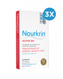 Nourkrin Active 20+ 3 Month Supply - 90 Tablets