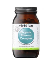 Viridian Organic Mineral Complex - 90 Vegetable Capsules