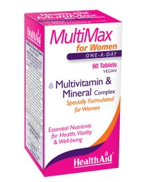 Health Aid Multimax - For Women - 60 Tablets