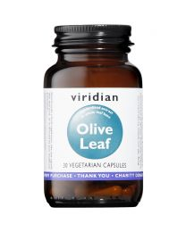 Viridian Olive Leaf Extract - 30 Vegetable Capsules
