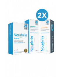 Nourkrin Woman 6 Months + Free Shampoo and Conditioner - 1 Pack