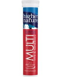 Higher Nature Fizzy Multi - 20 Tablets