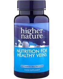 Higher Nature Nutrition For Healthy Veins - 90 Capsules
