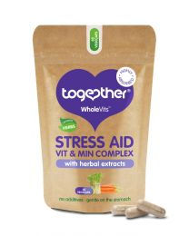 Together Wholevit Stress Aid Complex Food Supplement - 30 Capsules