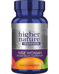 Higher Nature True Food Wise Woman - 30 Capsules