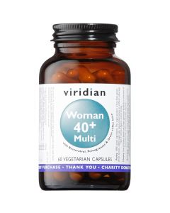 Viridian Women 40+ Multivitamin - 60 Vegetable Capsules