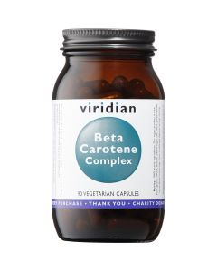 Viridian Beta Carotene (Mixed Carotenoid Complex) 15Mg - 90 Vegetable Capsules