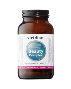 Viridian Ultimate Beauty Complex - 120 Vegetable Capsules