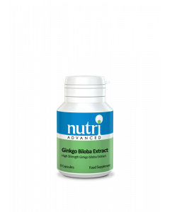 Nutri Advanced Ginkgo Biloba Extract - 60 Vegan Tablets