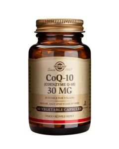 Solgar Coenzyme Q-10 30 Mg - 60 Vegetable Capsules