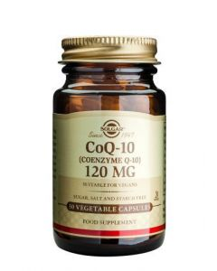Solgar Coenzyme Q-10 120 Mg - 30 Vegetable Capsules