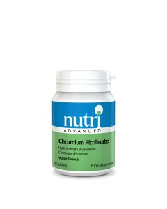 Nutri Advanced Chromium Picolinate - 90 Vegan Tablets