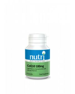 Nutri Advanced Coq10 100Mg - 30 Softgels