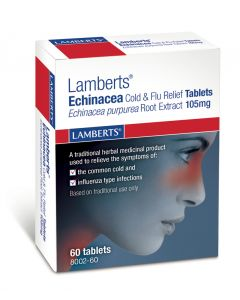 Lamberts Echinacea Cold & Flu Relief Tablets - 60 Tablets