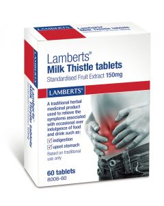 Lamberts Milk Thistle Tablets - 60 Tablets