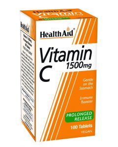 Health Aid Vitamin C 1500Mg - Prolonged Release - 100 Tablets