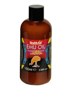 Health Aid Emu Oil - 100ml Liquid