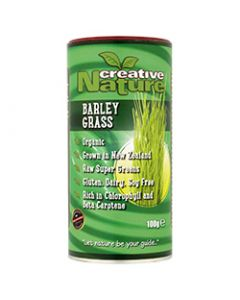 Creative Nature Organic Barley Grass Powder (New Zealand) - 100g Powder
