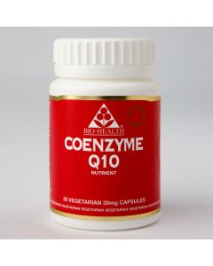 Bio Health Co Enzyme Q10 30Mg - 30 Vegetable Capsules
