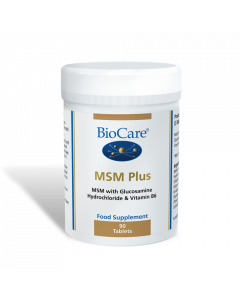 BioCare MSM Plus (MSM With Glucosamine) - 90 Tablets