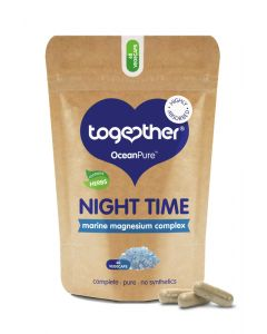 Together Oceanpure Night Time Magnesium Complex Food Supplement - 60 Capsules