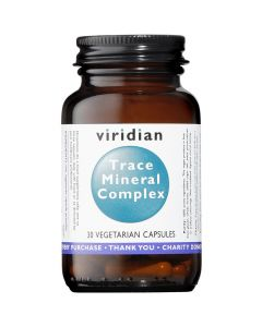 Viridian Trace Mineral Complex - 30 & 90 Vegetable Capsules