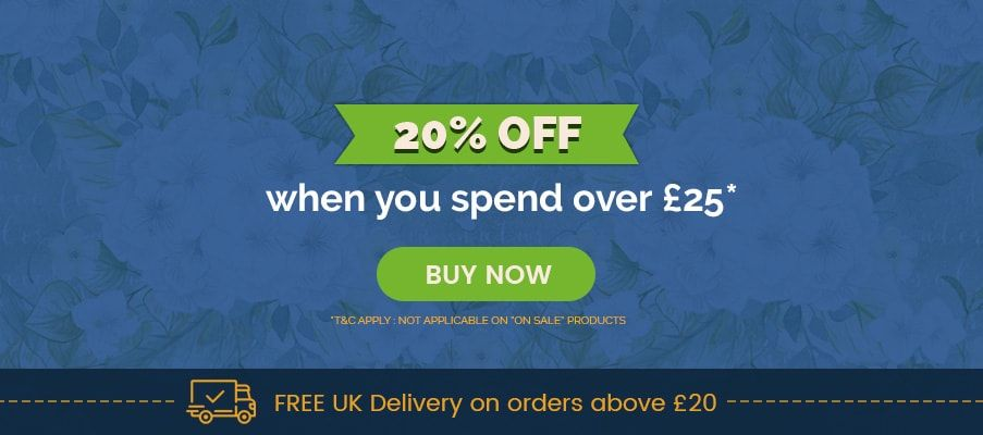 20% OFF when you spend over £25 - MyNutricentre UK