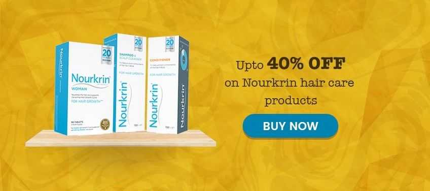 Upto 40% off on nourkrin hair care products-Mynutricentre UK
